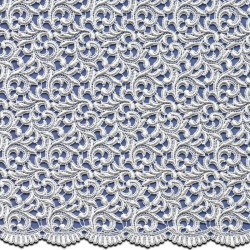 Pale Ivory Wedding Lace Fabric 3828