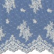 Pale Ivory Chantilly Lace Wedding Fabric 3865C
