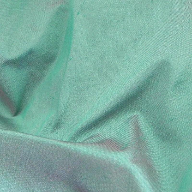 colr 196 2-tone Dupion Silk Fabric 4238