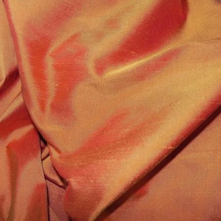 colr 401 2-tone Dupion Silk Fabric 4238