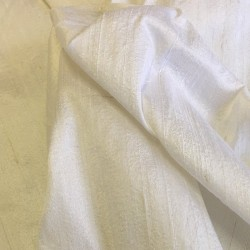 White Raw Silk Dupion 4246