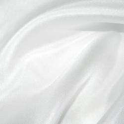 White Silk Habotai Lining Dress Fabric 4253