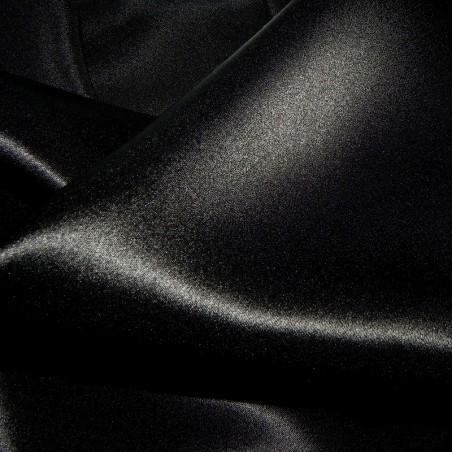 Black Satin back Crepe Silk 4255