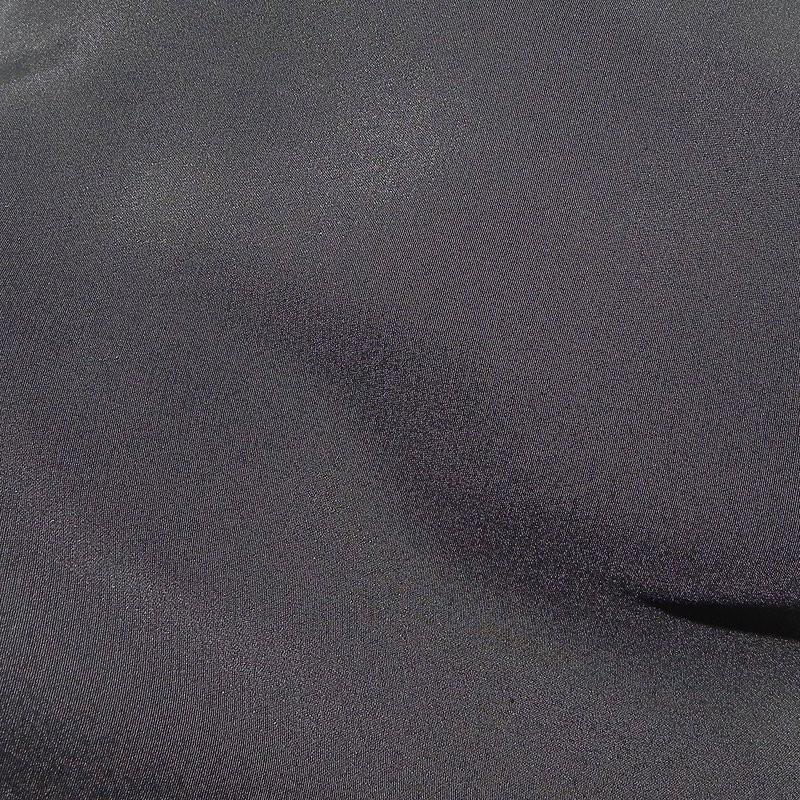 Black Crepe de Chine 4264