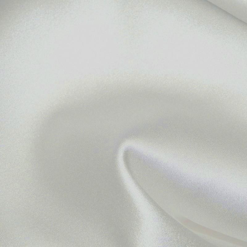 White Satin Back Stretch Crepe 4265
