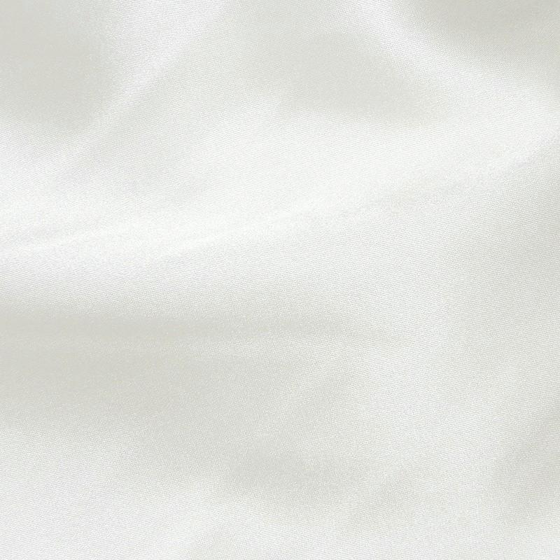 Pale Ivory Stretch Satin Fabric Silk 4265