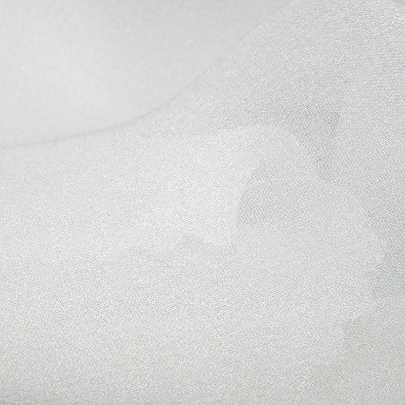 Pale Ivory Silk Georgette Wedding Fabric 4272