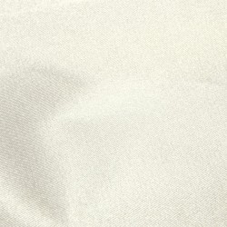 Ivory Duchess Satin Stretch Silk-Mix Dress Fabric 4294