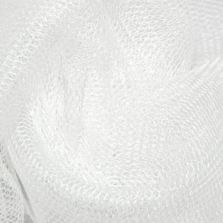 Pale Ivory Soft Silk Tulle 4396