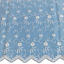 White Wedding Lace Fabric 4426