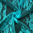 Aqua Wedding Lace Fabric 4428