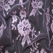 Deep Lilac Wedding Lace Fabric 4428