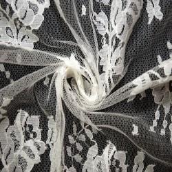 Ivory Wedding Lace Fabric 4428