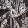 White Wedding Lace Fabric 4428