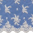 Champagne-Ivory Chantilly Lace Wedding Fabric 4438C