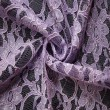Lilac Corded Wedding Lace Fabric 4441C