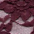 Plum Corded Wedding Lace Fabric 4441C