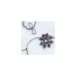 GreySilverPowdr Wedding Lace Fabric 4446