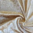 Gold Crushed Velour Stretch Wedding Fabric 4741