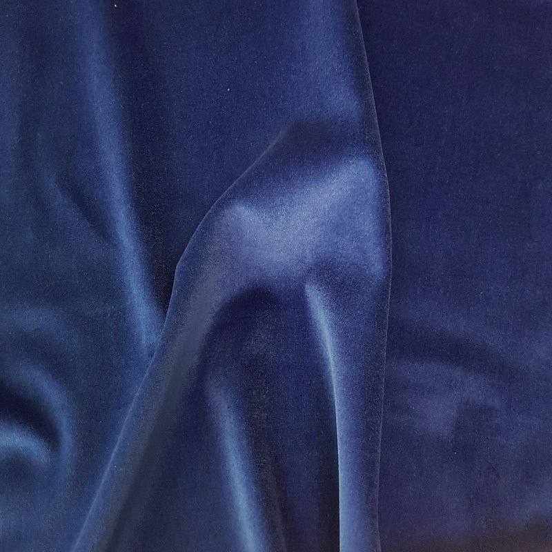 Marine Cotton Velvet Fabric 4789