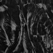 Black Crushed Velvet Fabric 4791