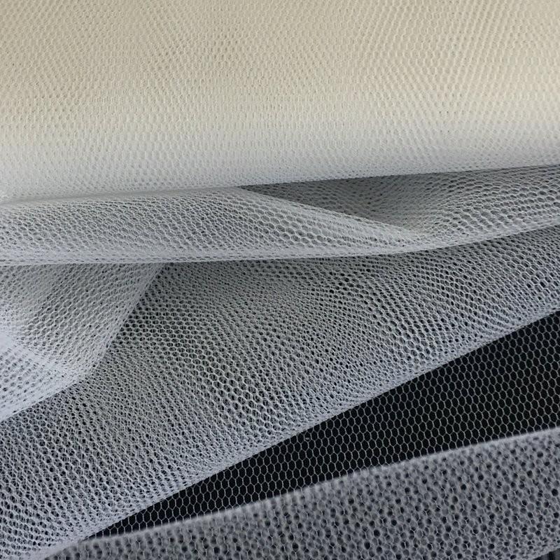 Medium Ivory Veil Fabric 4901
