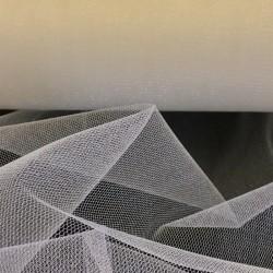 Deep Ivory Sparkly Veil Tulle 4902