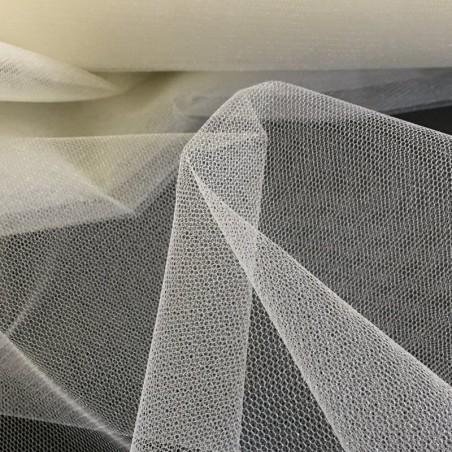 Medium Ivory Sparkly Veil Tulle 4902