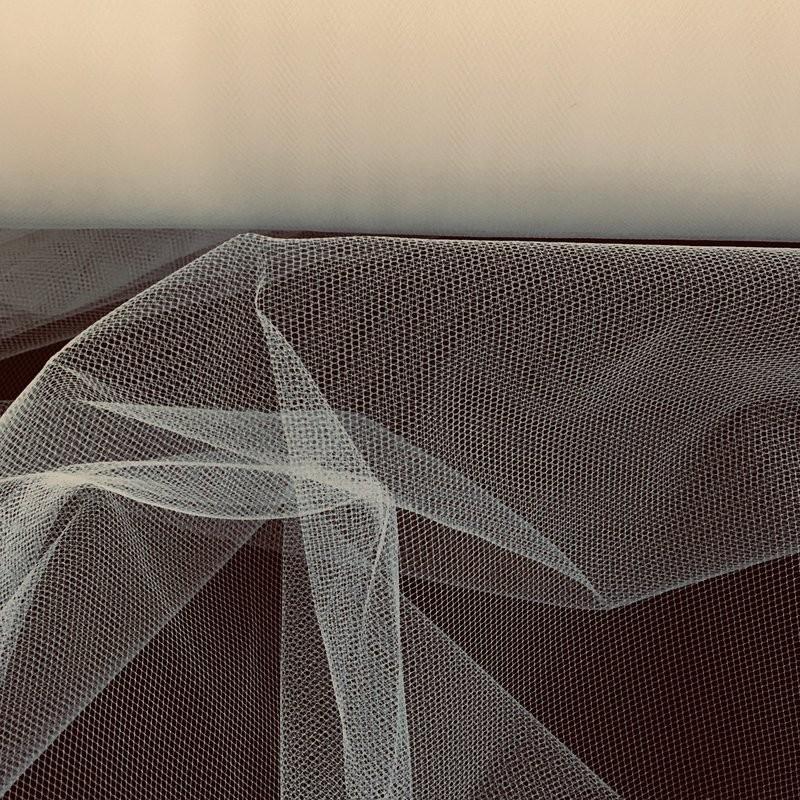 Deep Ivory Tulle Fabric 4907
