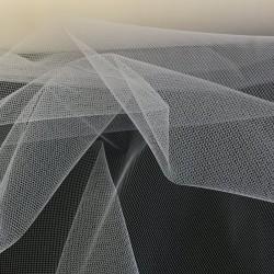 Medium Ivory Tulle Fabric 4907