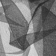 Black Silk Bridal Tulle 4919