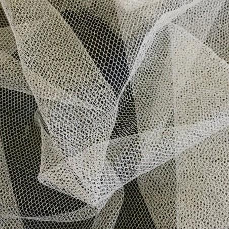 Medium Ivory Silk Bridal Tulle 4919