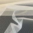 Pale Ivory Stiff Net 4926