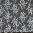Aqua Chantilly Lace Wedding Fabric 6417