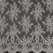 Nude Chantilly Lace Wedding Fabric 6417