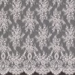 Pink Chantilly Lace Wedding Fabric 6417