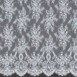 Powder-Blue Chantilly Lace Wedding Fabric 6417