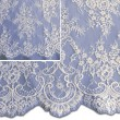 Pale Ivory Chantilly Lace Wedding Fabric 6417