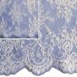 Pale Ivory Chantilly Lace Wedding Fabric 6417