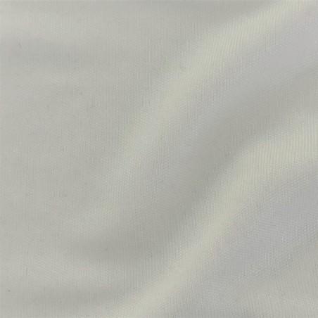 Pale Ivory Silk Jersey Wedding Fabric 7061