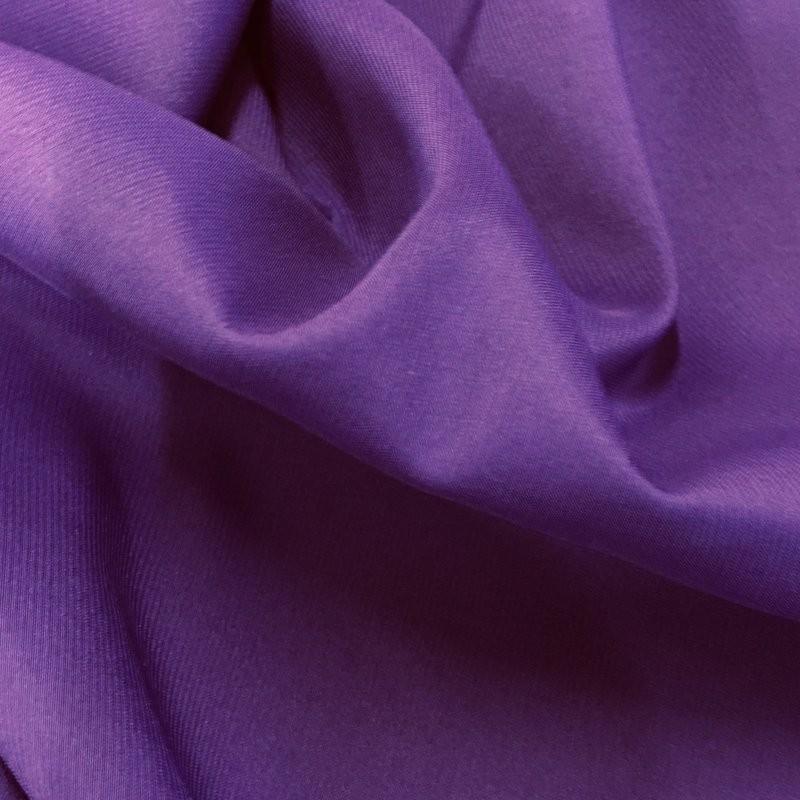 Purple Heavy Crepe - Satin back 7800