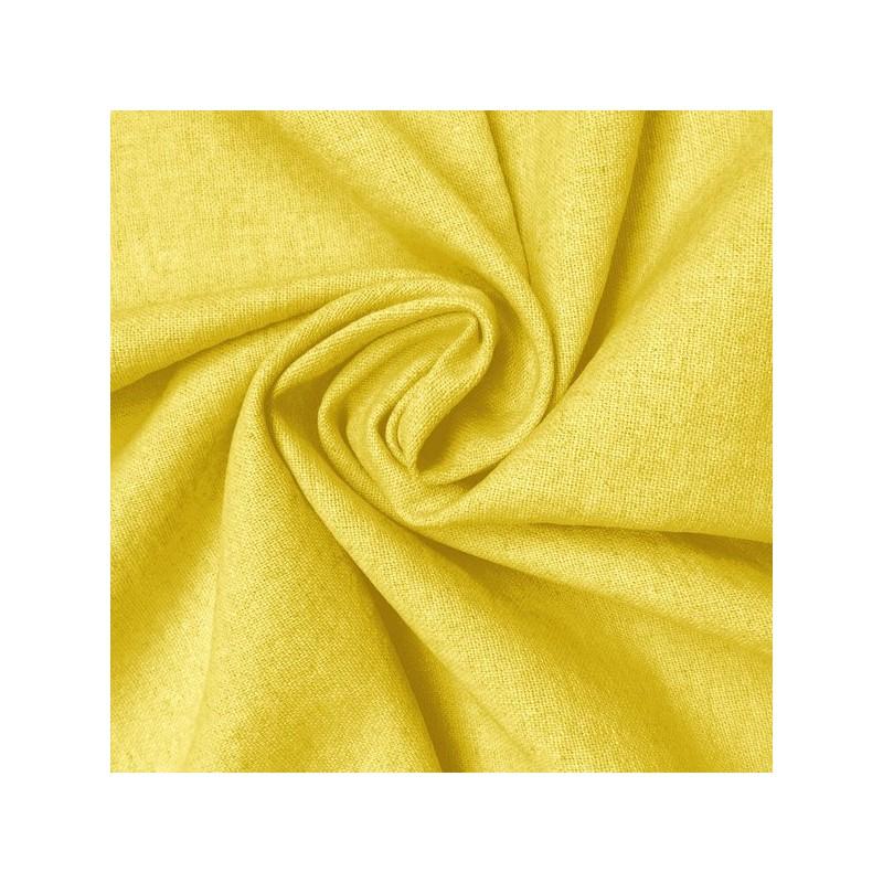 Ochre Linen-Cotton Ladies Jacket Fabric 9002