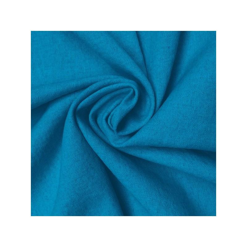 Turquoise Linen-Cotton Ladies Jacket Fabric 9002