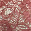 Deep Rose Corded Wedding Lace Fabric 9013C
