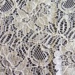 Ivory Corded Wedding Lace Fabric 9013C