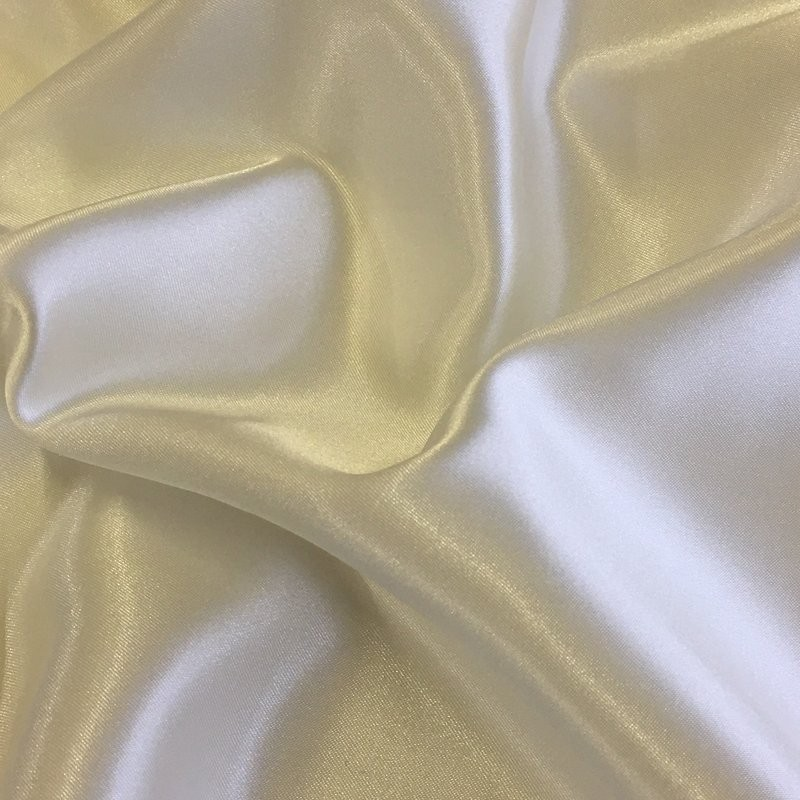 Pale Ivory Liquid Satin 4531