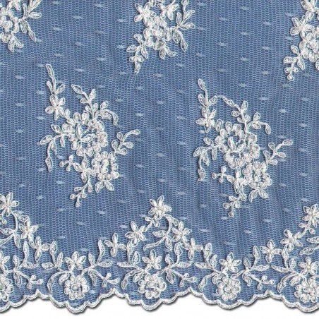 Beaded Chantilly Lace Wedding Fabric 3864BCS   Wedding Lace   Buy