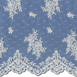 Chantilly Lace Wedding Fabric 3865C