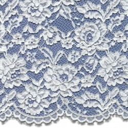 Corded Wedding Lace Fabric 3875C | Bridal Lace Fabric | Buy