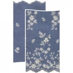 Beads & Flowers Dress Lace Fabric 3882BFS